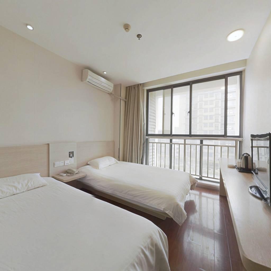 此房户型正气,楼层好,精装1房,总价低