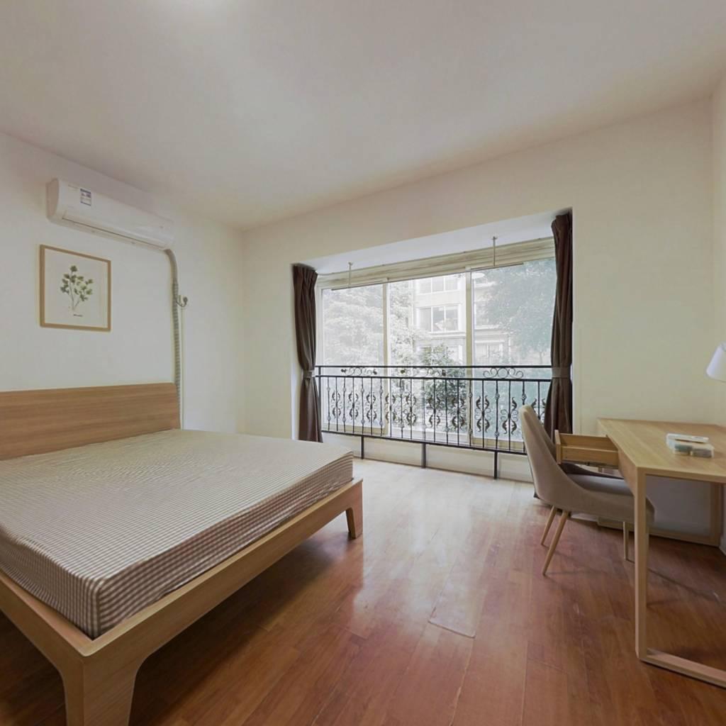 合租·懋园国际商住城 4室1厅 东卧室图