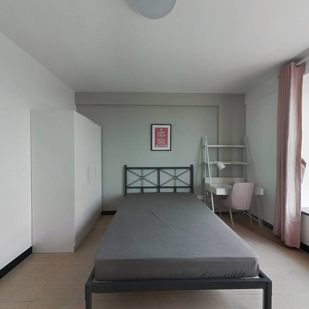 合租·首义名居 3室1厅 南卧室图