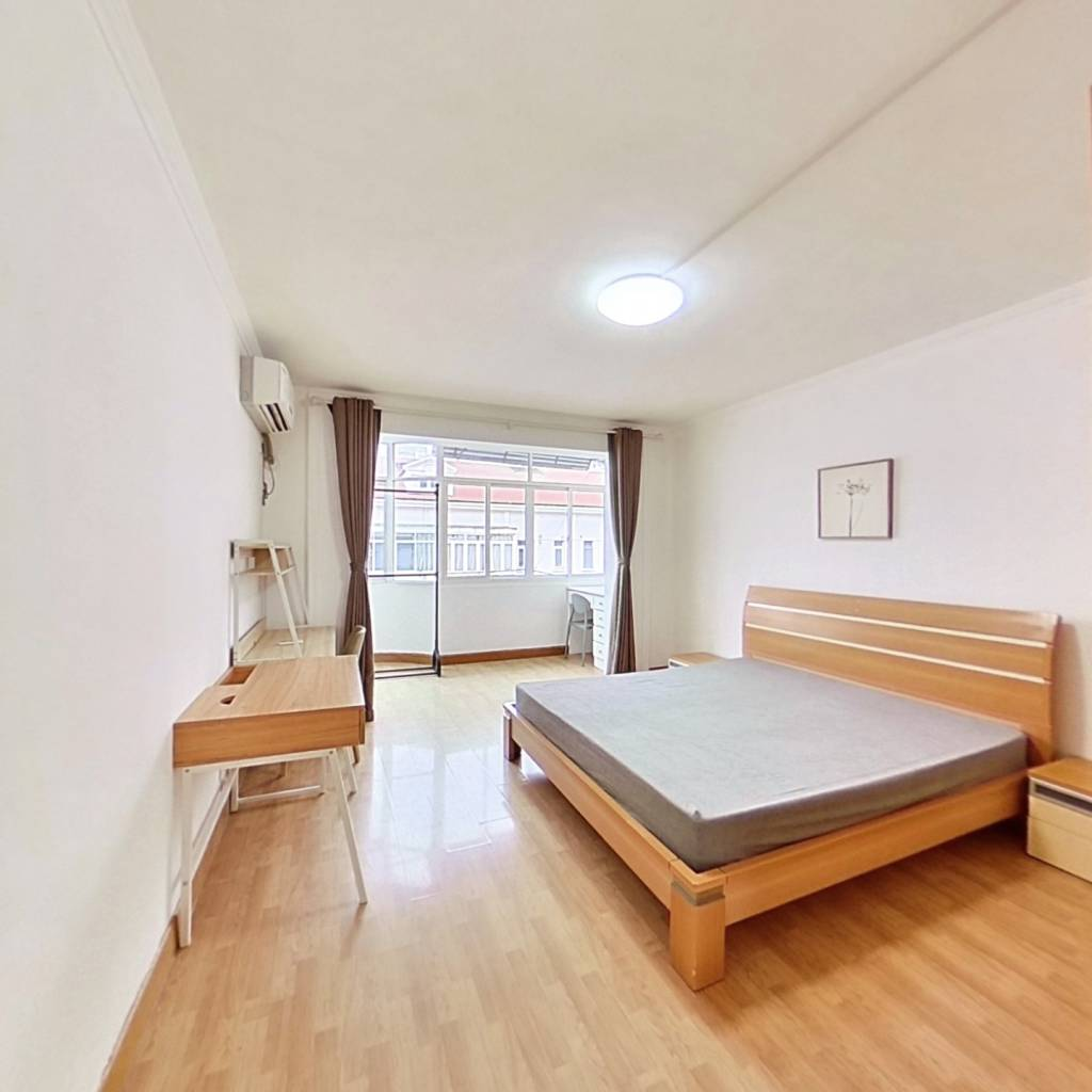 整租·安西小区 1室1厅 南卧室图