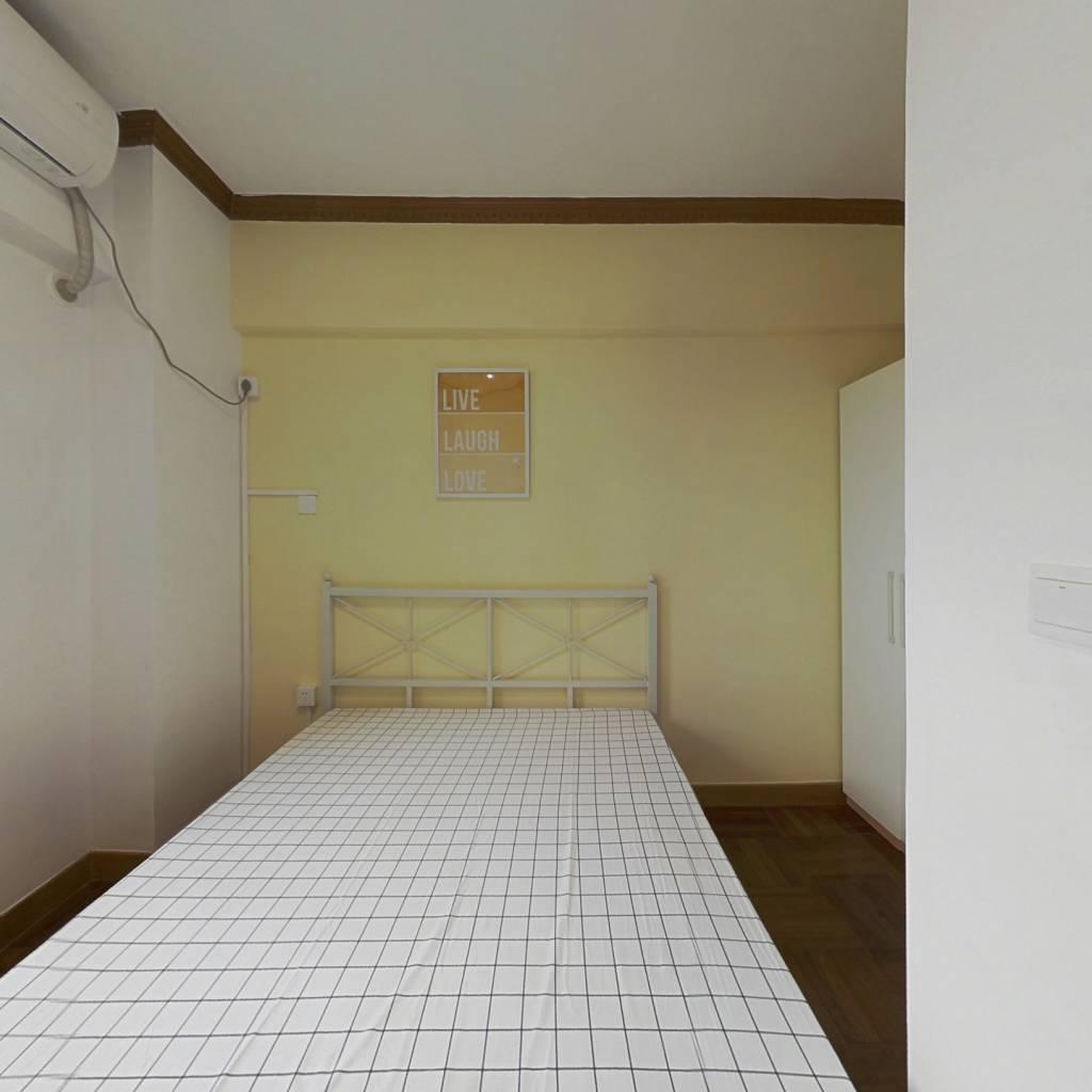 合租·粤和楼 3室1厅 北卧室图