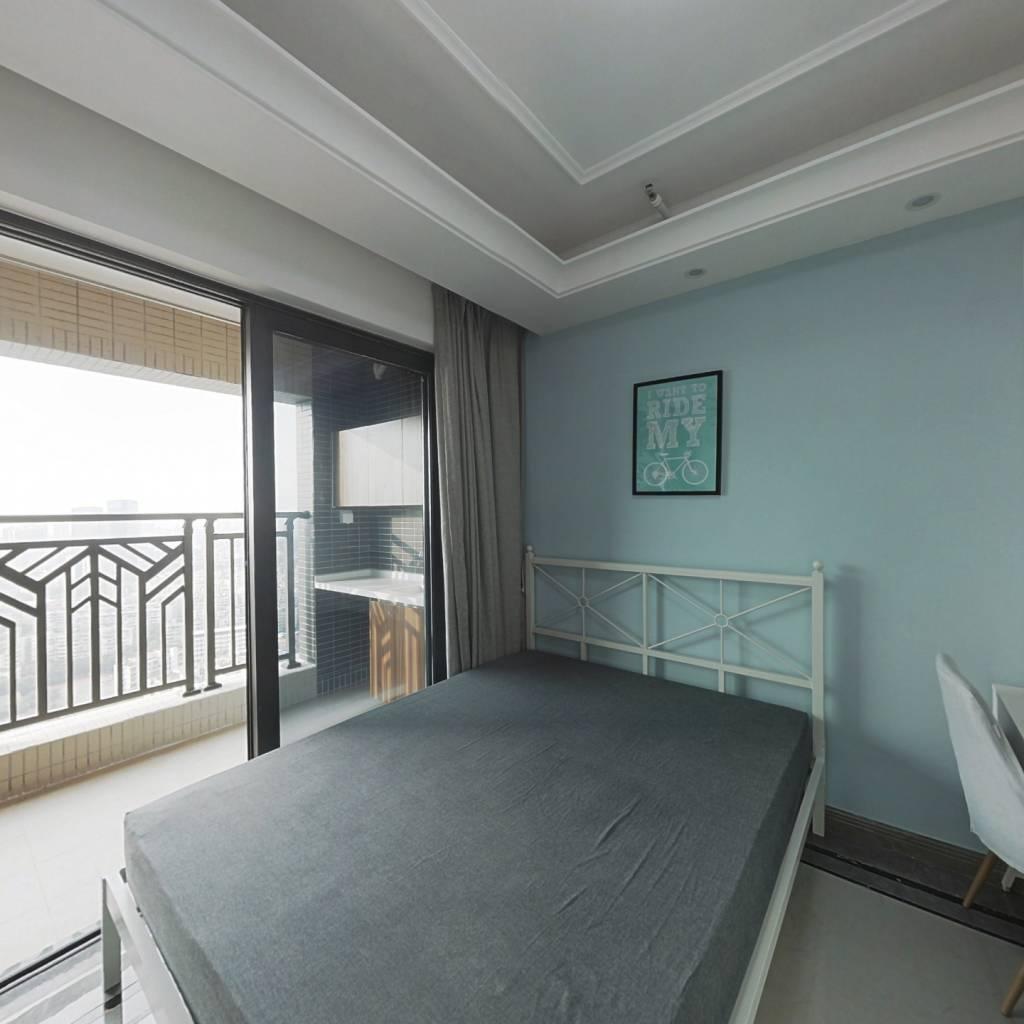合租·中海花湾壹号(C区) 3室1厅 西北卧室图