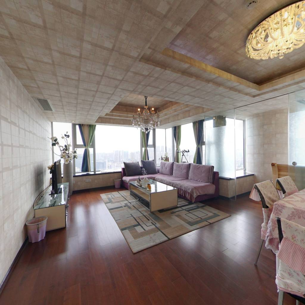 朗御高楼层视野开阔无遮挡,住家装修带家具家电