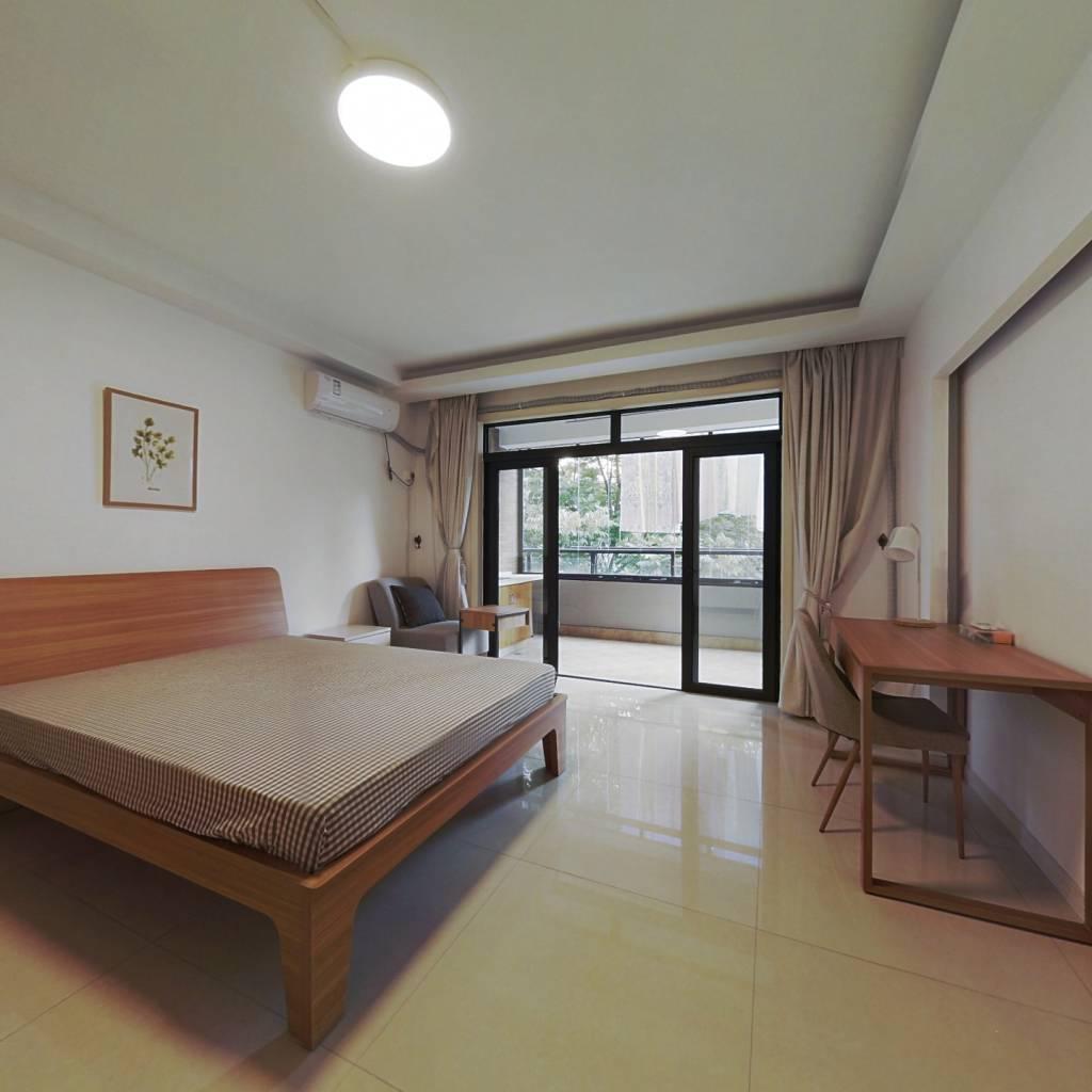 合租·贺田尚城 4室1厅 北卧室图
