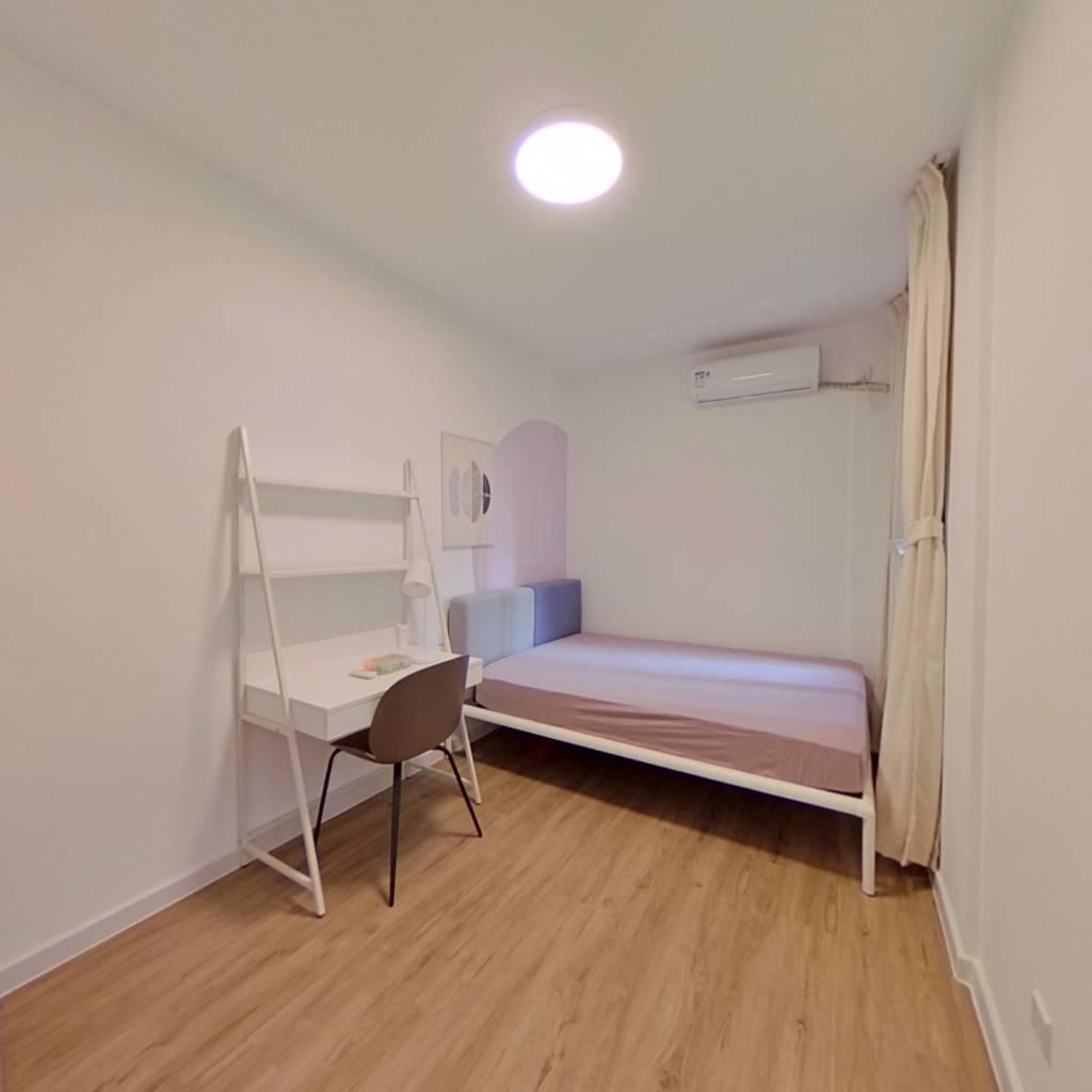 合租·龙湖九里晴川 3室1厅 东北卧室图