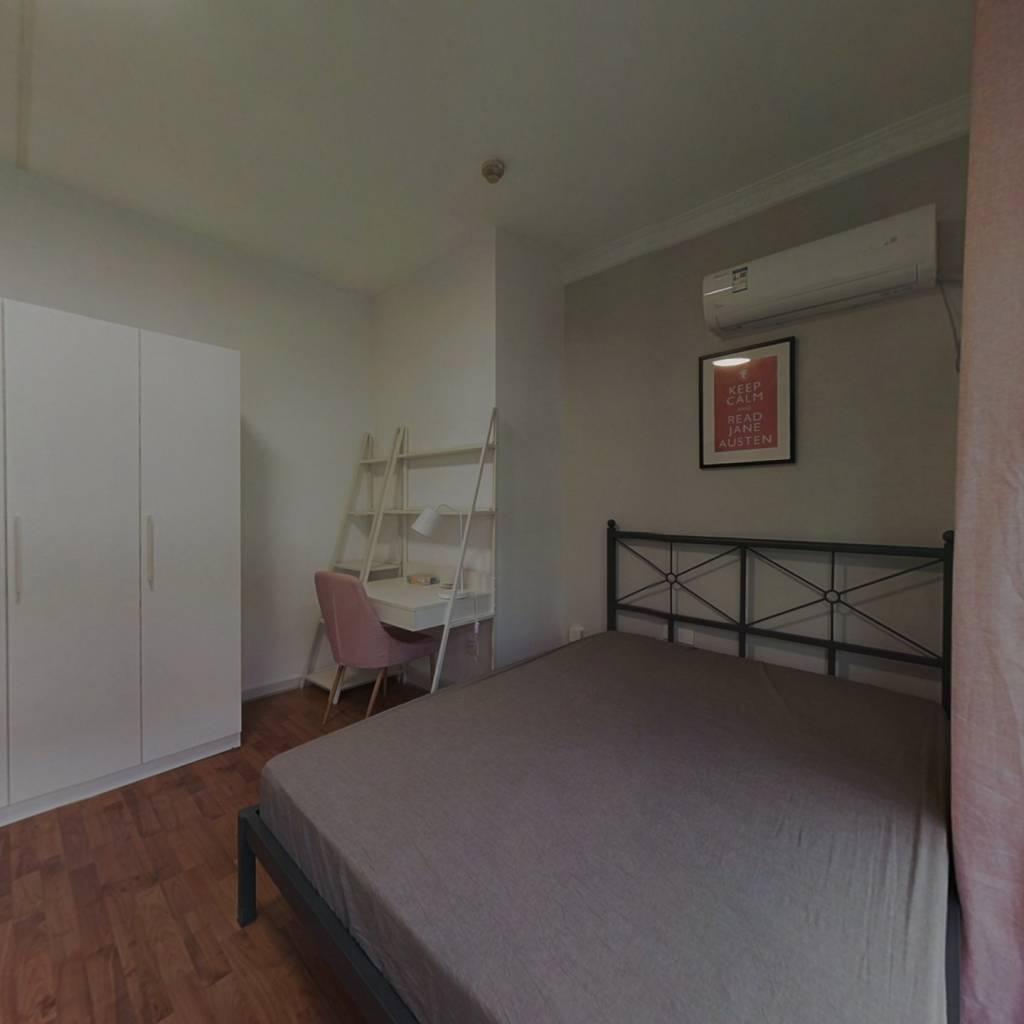 合租·博文花园 4室1厅 北卧室图