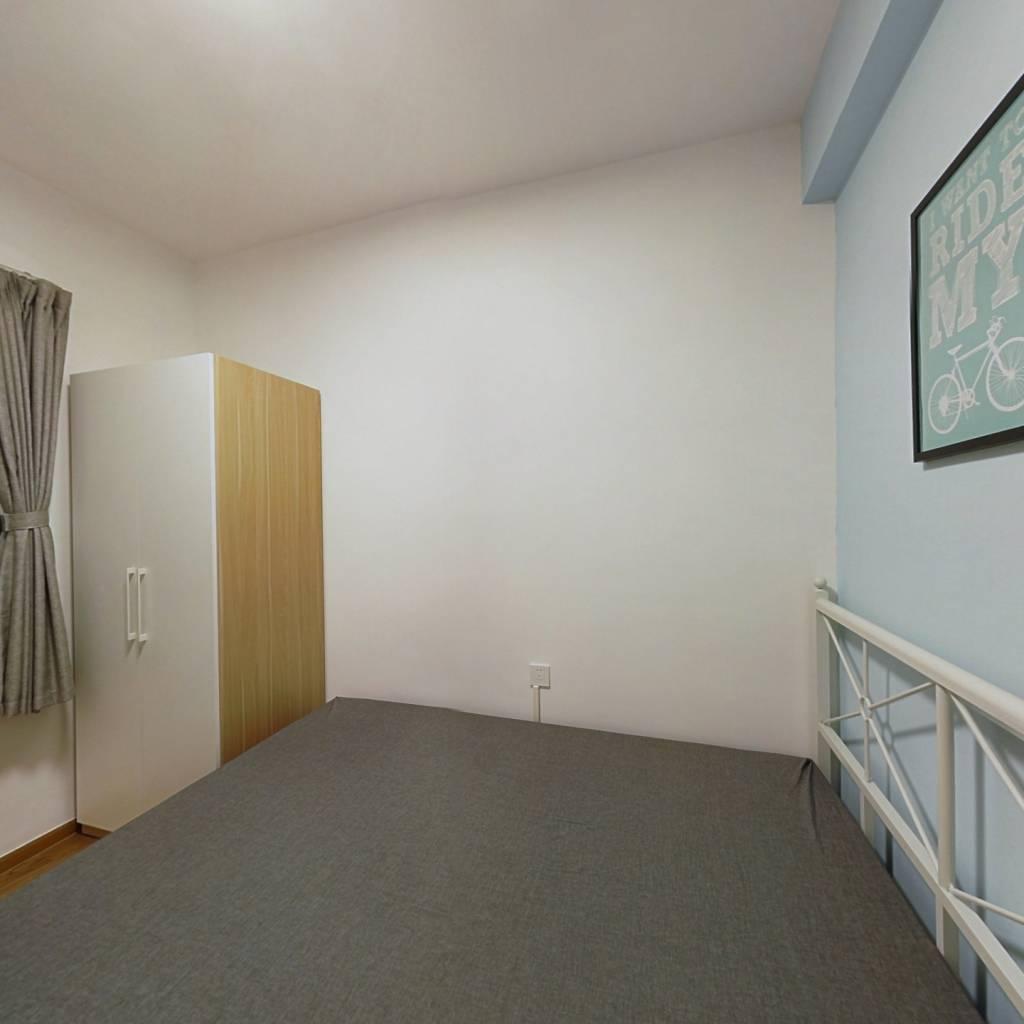 合租·御金沙 4室1厅 北卧室图