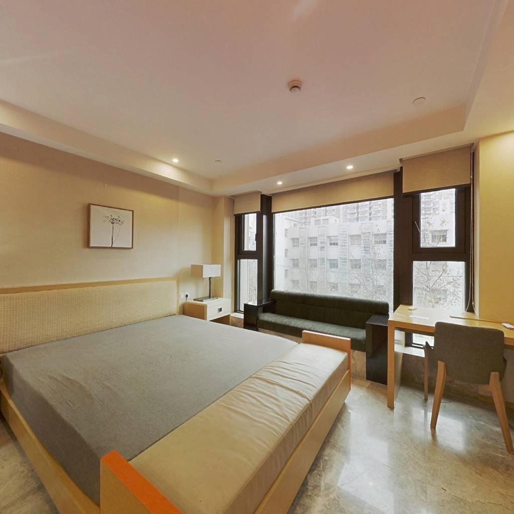 整租·华丽家族汇景天地(商业类) 1室1厅 北卧室图