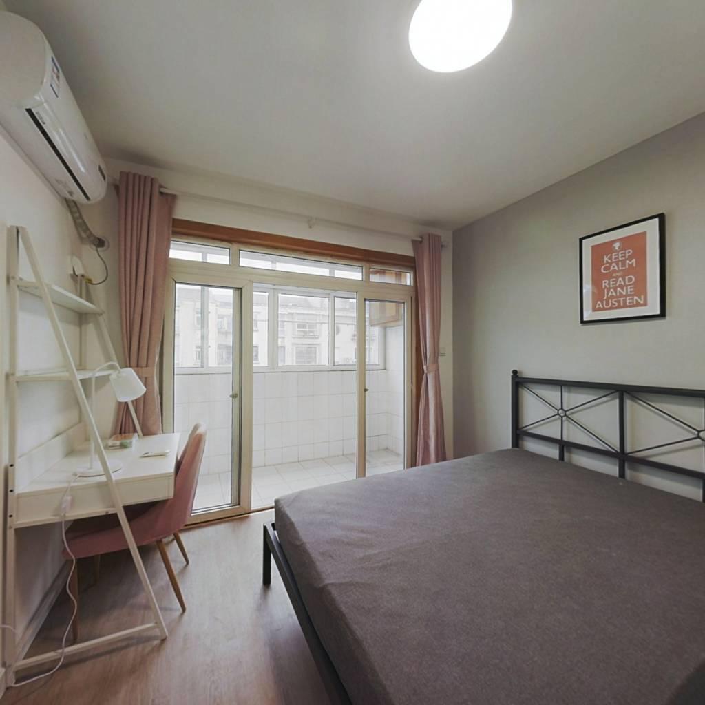 合租·康定里 4室1厅 南卧室图