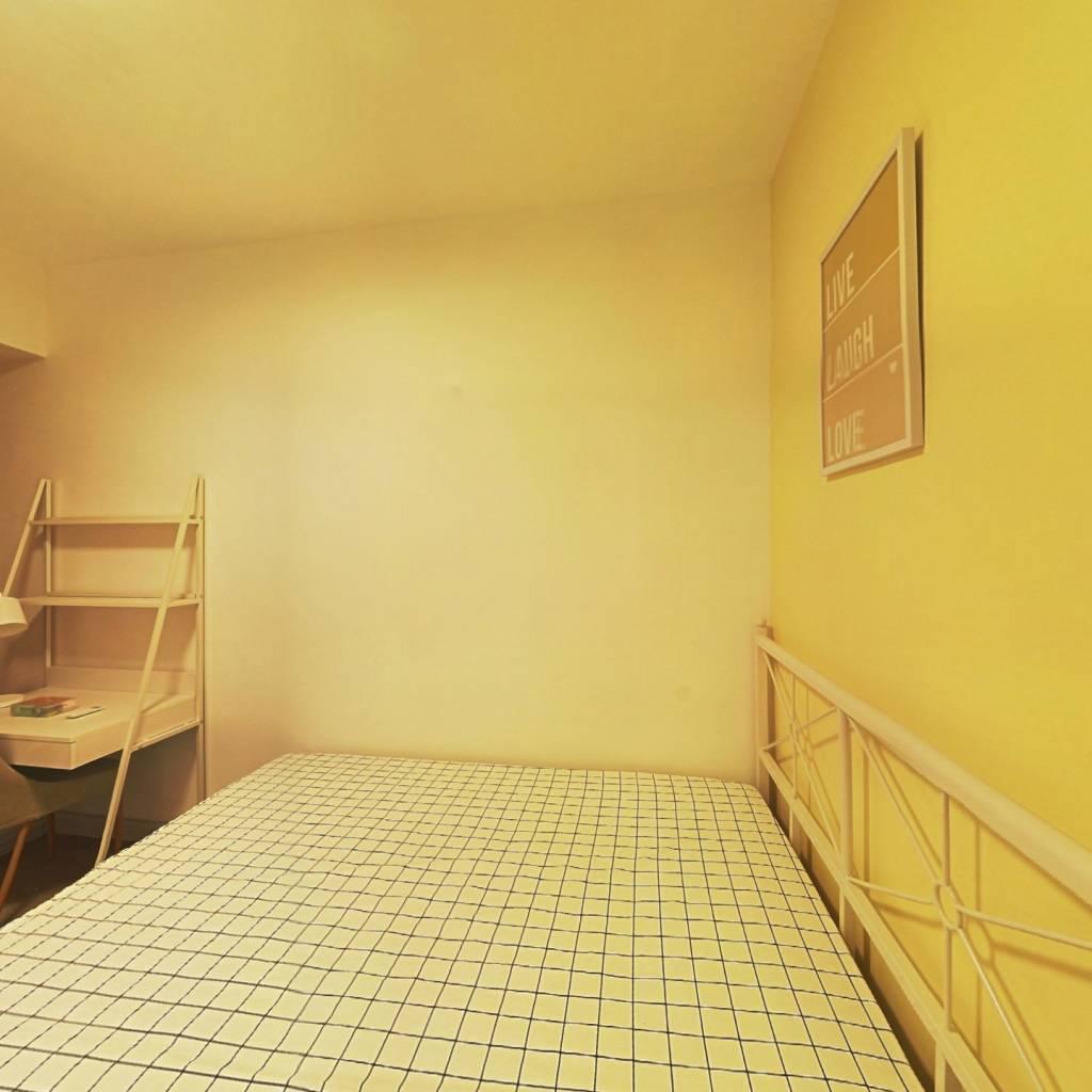 合租·人居盛和林语南区 4室1厅 北卧室图