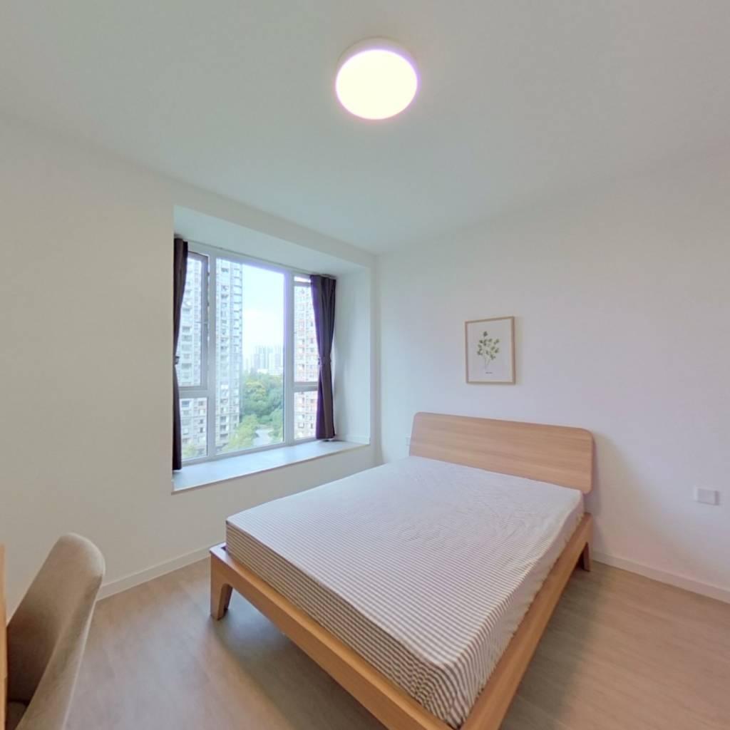 合租·锦东庭园 4室1厅 北卧室图