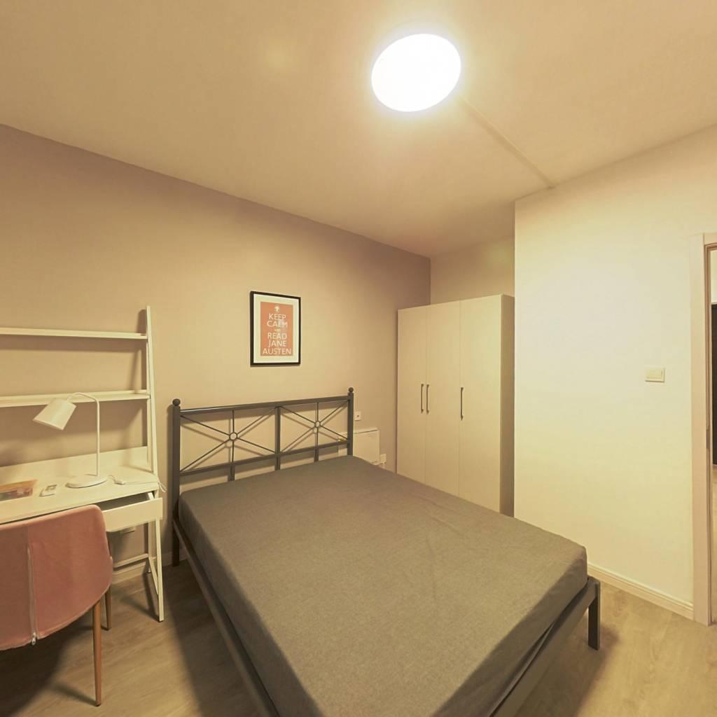 合租·华润幸福里 4室1厅 南卧室图