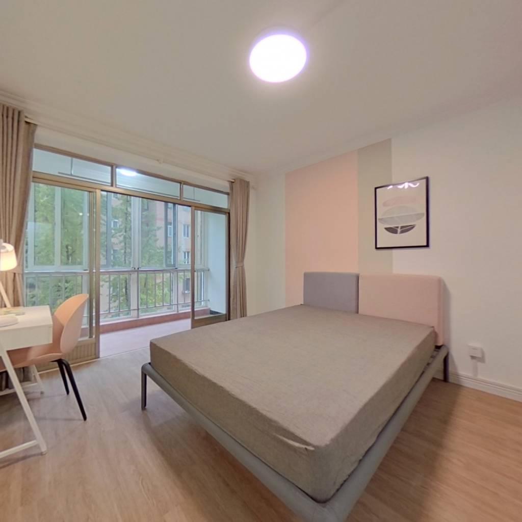 合租·同德公寓 4室1厅 南卧室图