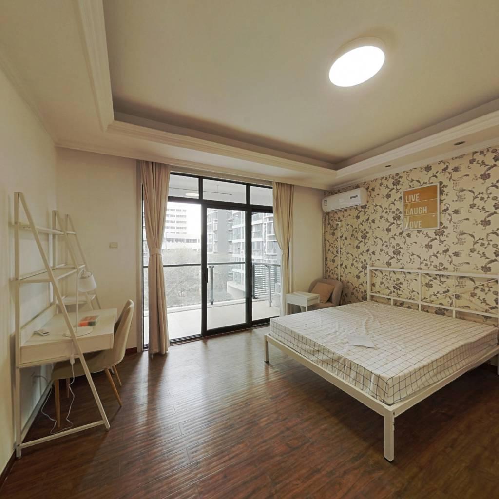 合租·观南上域 4室1厅 南卧室图