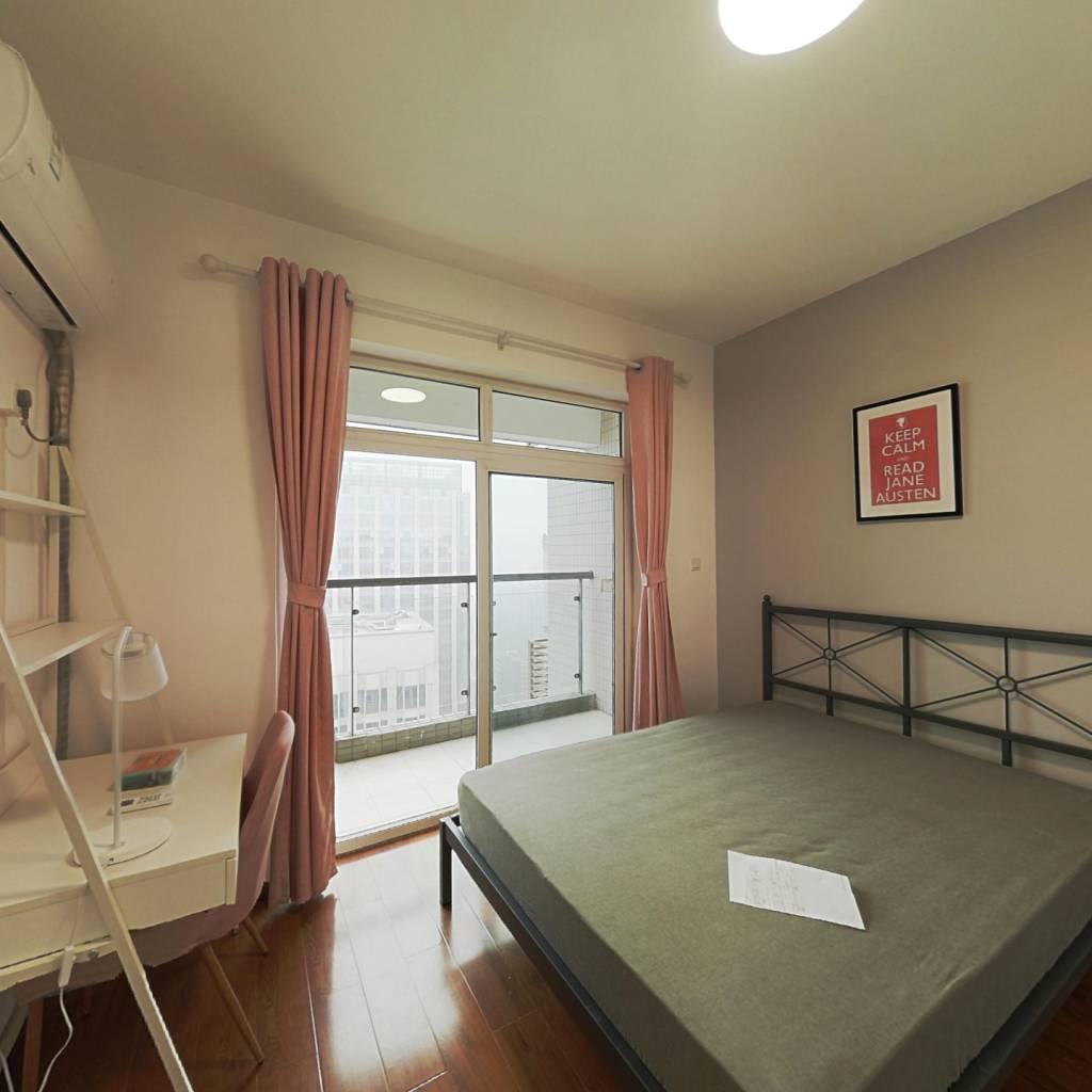 合租·府青惠园 4室1厅 西卧室图
