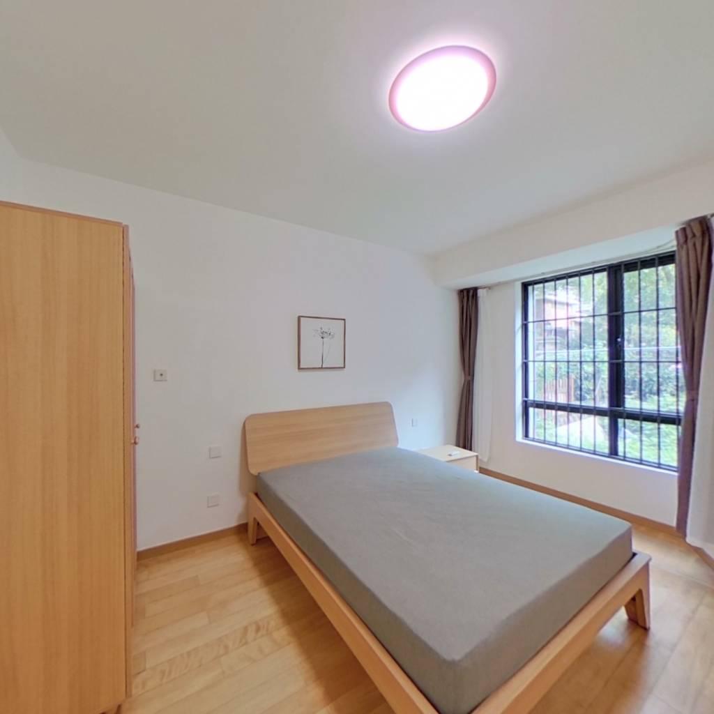 整租·绿地蔷薇九里(公寓) 1室1厅 南卧室图