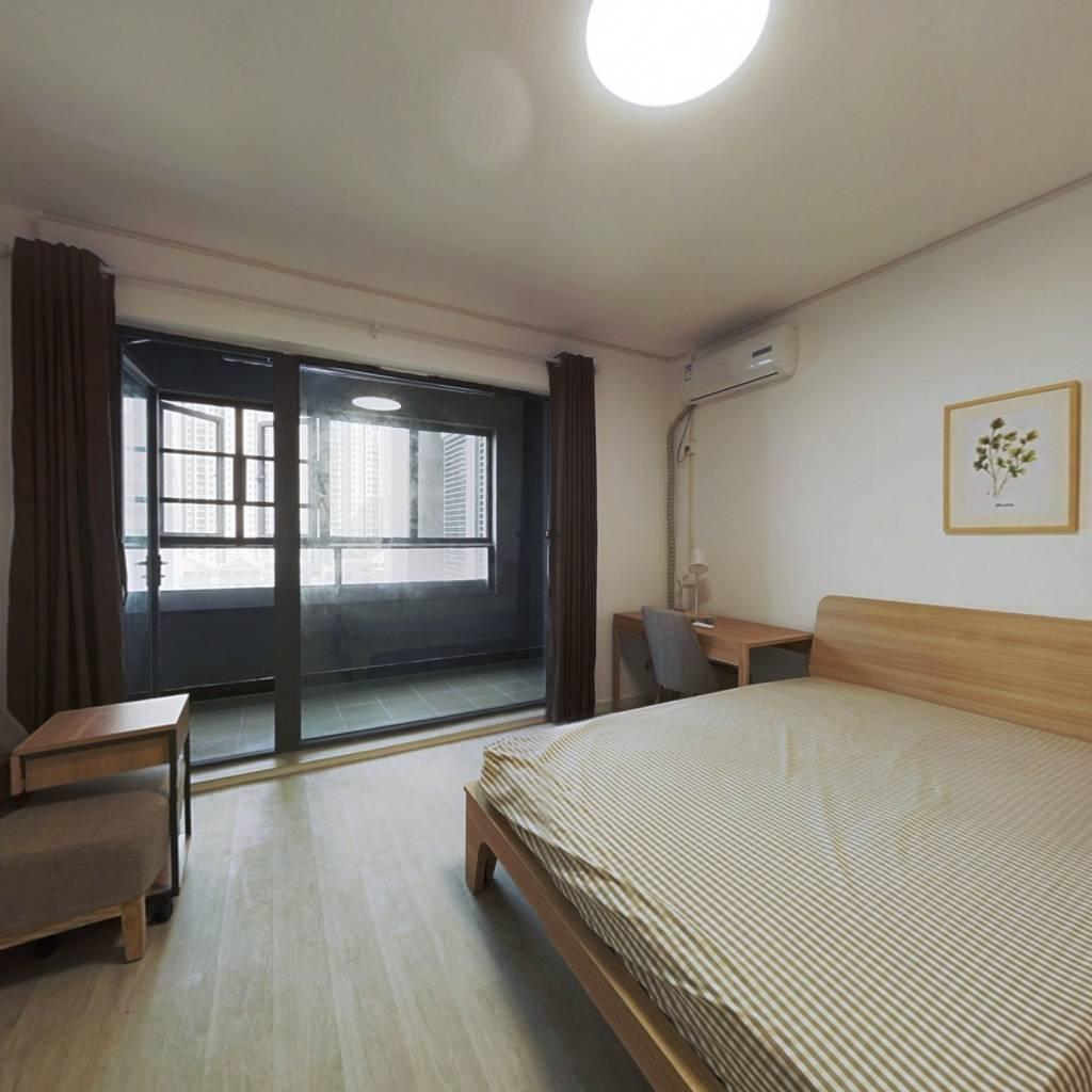 合租·融创公园壹号三期 5室1厅 北卧室图
