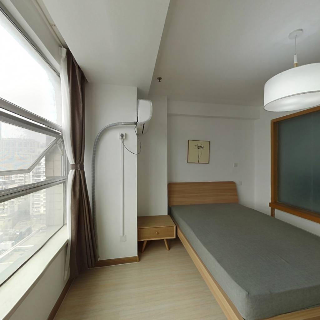 整租·紫鑫国际公寓 1室1厅 东卧室图