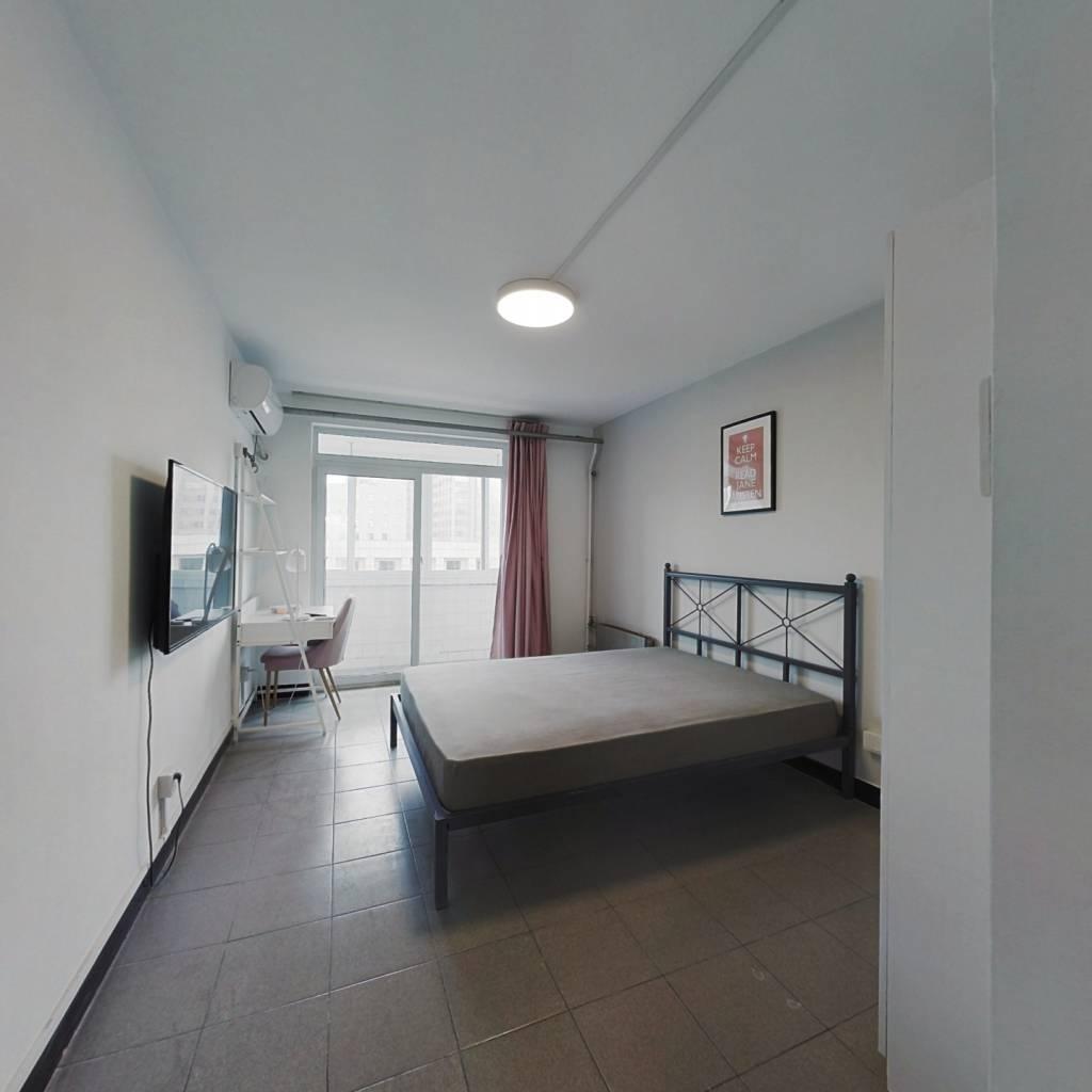 合租·莲花池南里 3室1厅 北卧室图