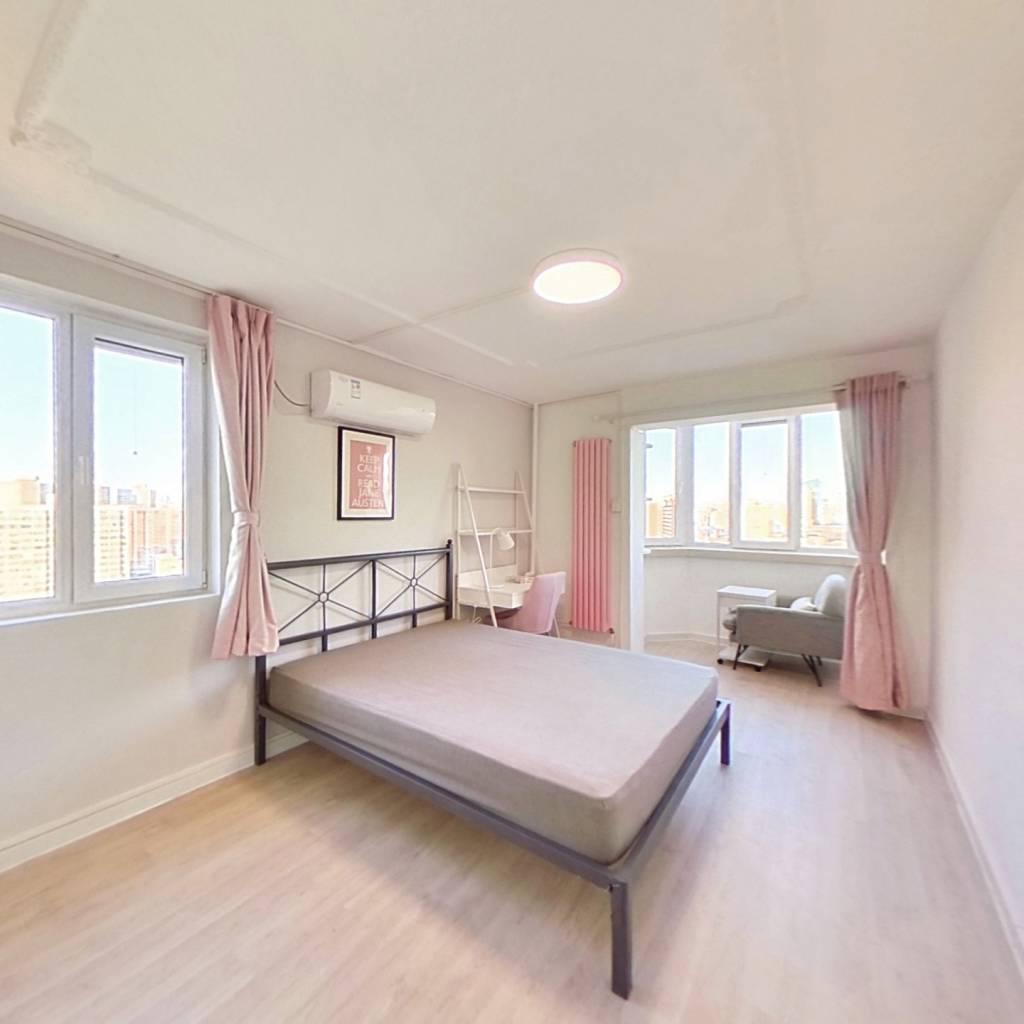 合租·安华西里社区 3室1厅 西卧室图
