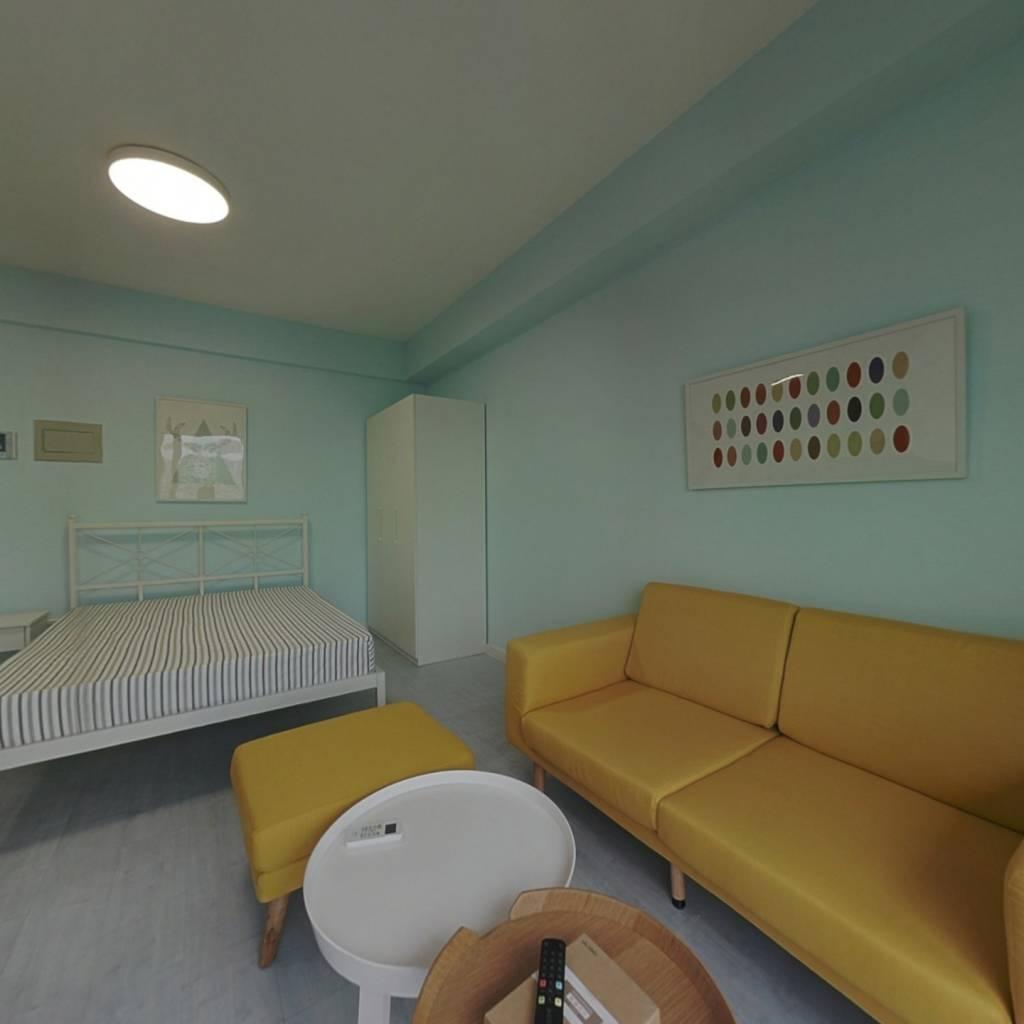 整租·时代100 1室1厅 南卧室图