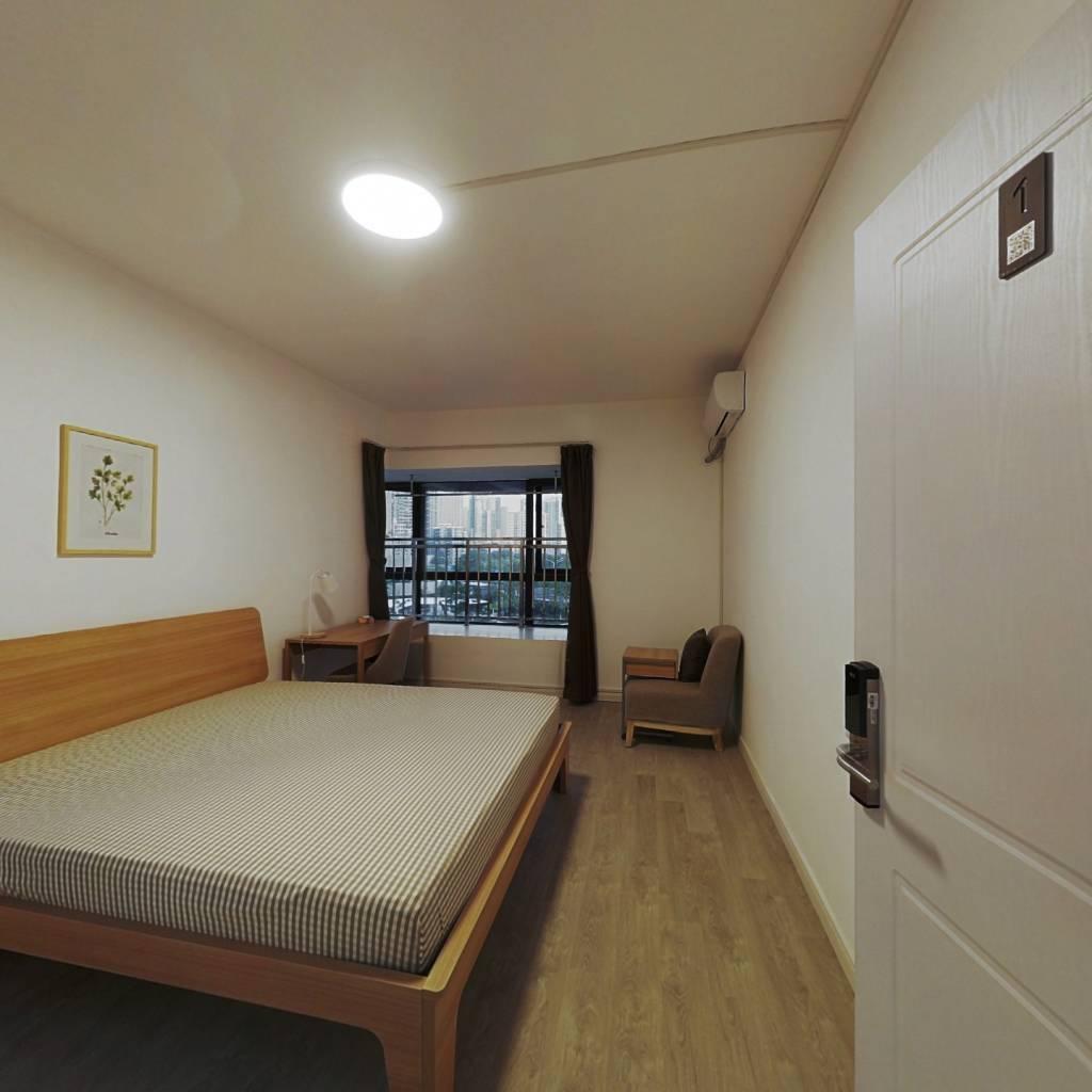 合租·金沙泊岸 4室1厅 南卧室图