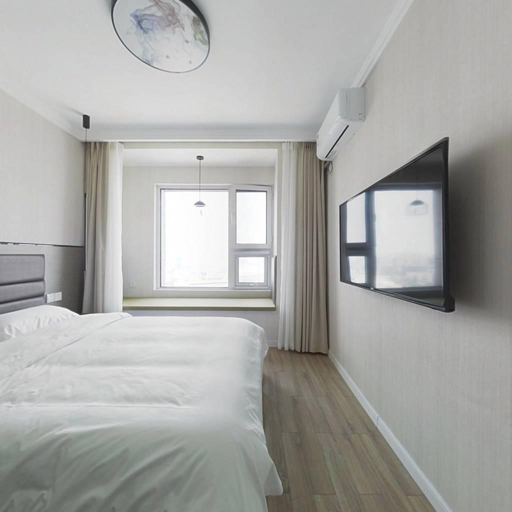 齐鲁软件园商圈,低总价精装公寓,拎包入住