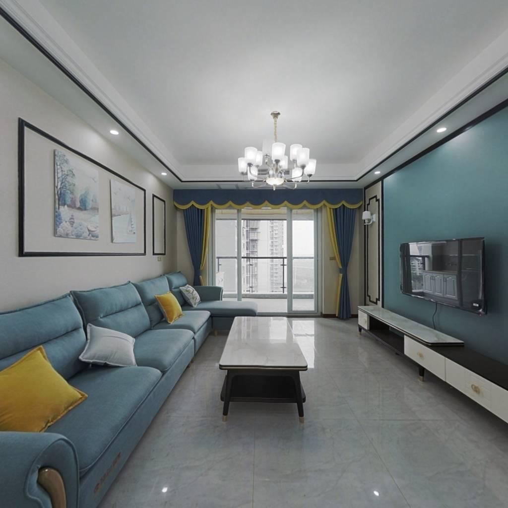 此房是3室2厅1厨2卫,户型好。