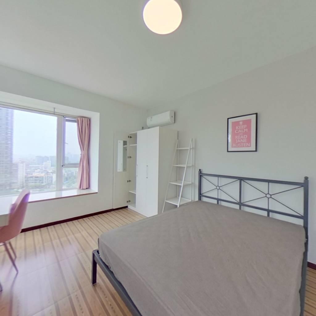 合租·水畔经典 5室1厅 西卧室图