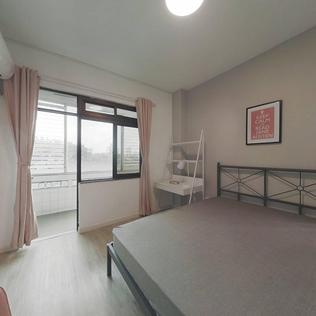 合租·园岭新村 4室1厅 北卧室图