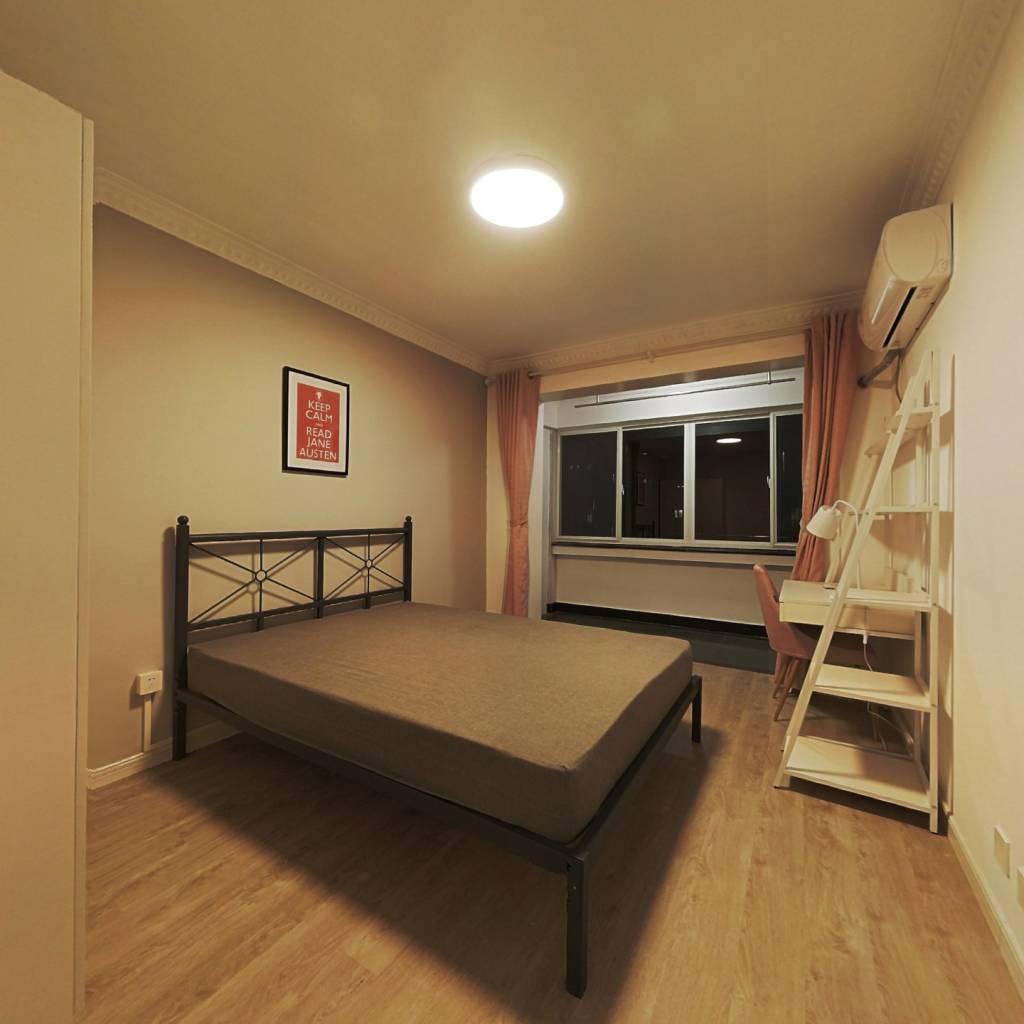 合租·航华二村信利苑 3室1厅 北卧室图
