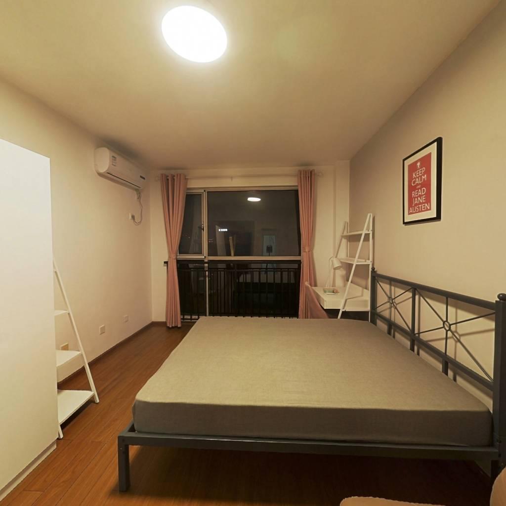 合租·布鲁汀 4室1厅 南卧室图