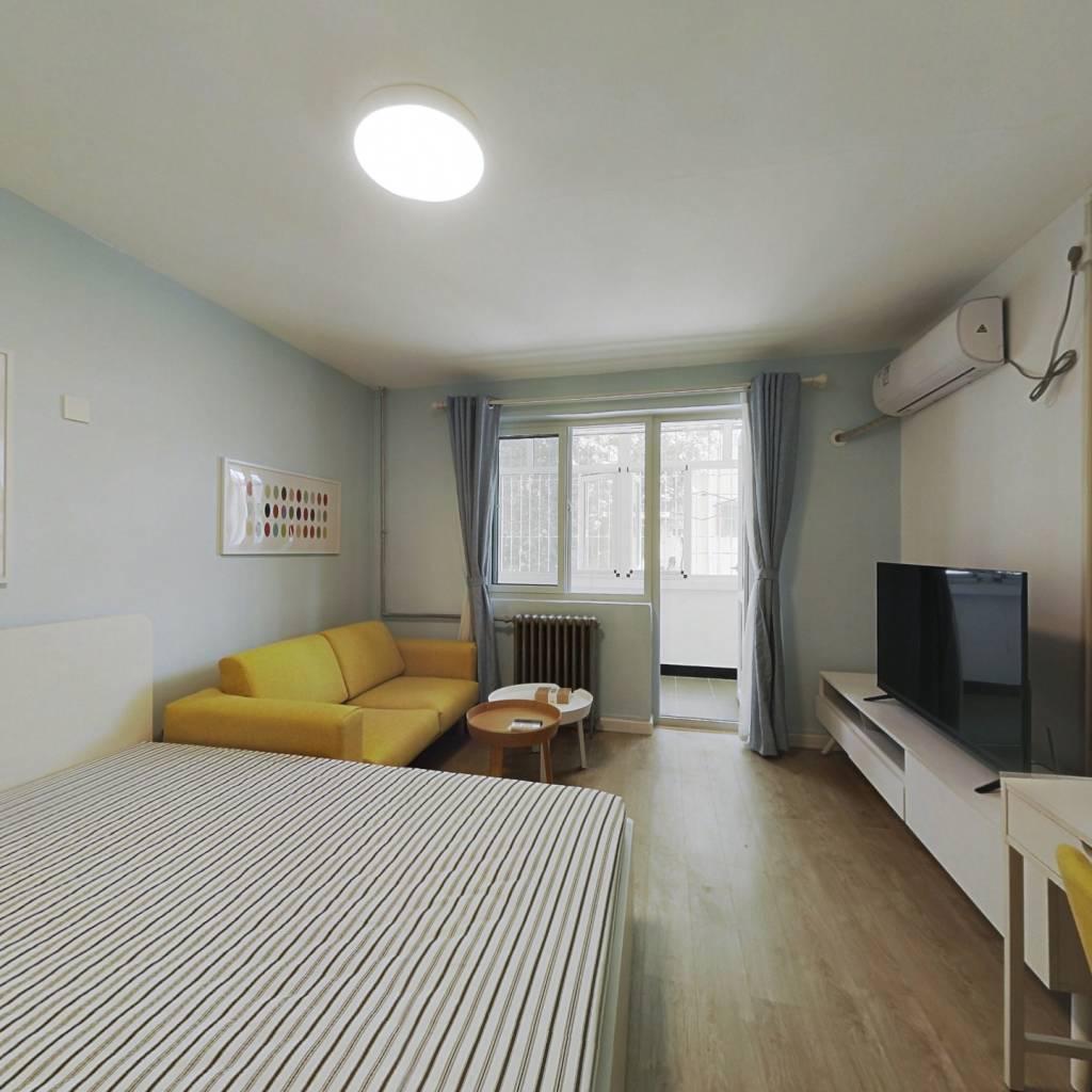 整租·丝竹园小区 1室1厅 南卧室图