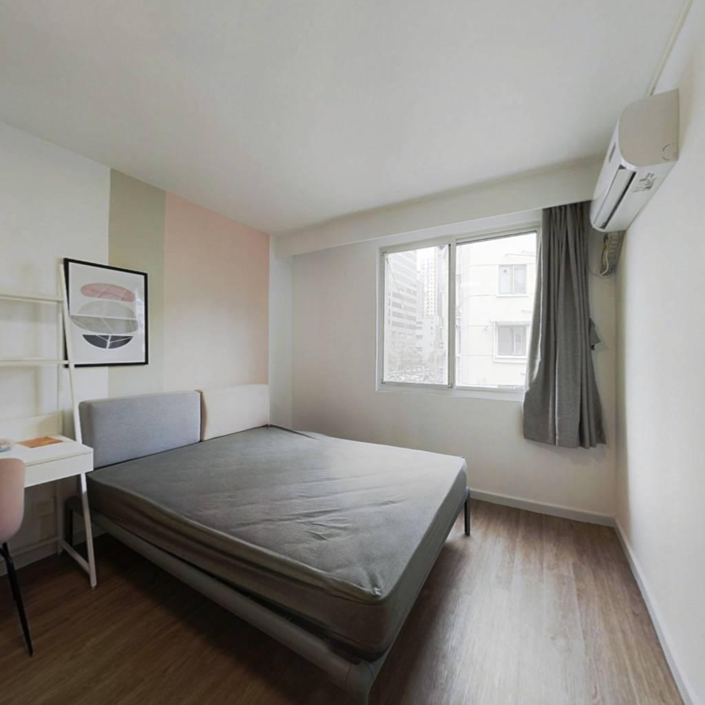 合租·忠和坊 3室1厅 北卧室图