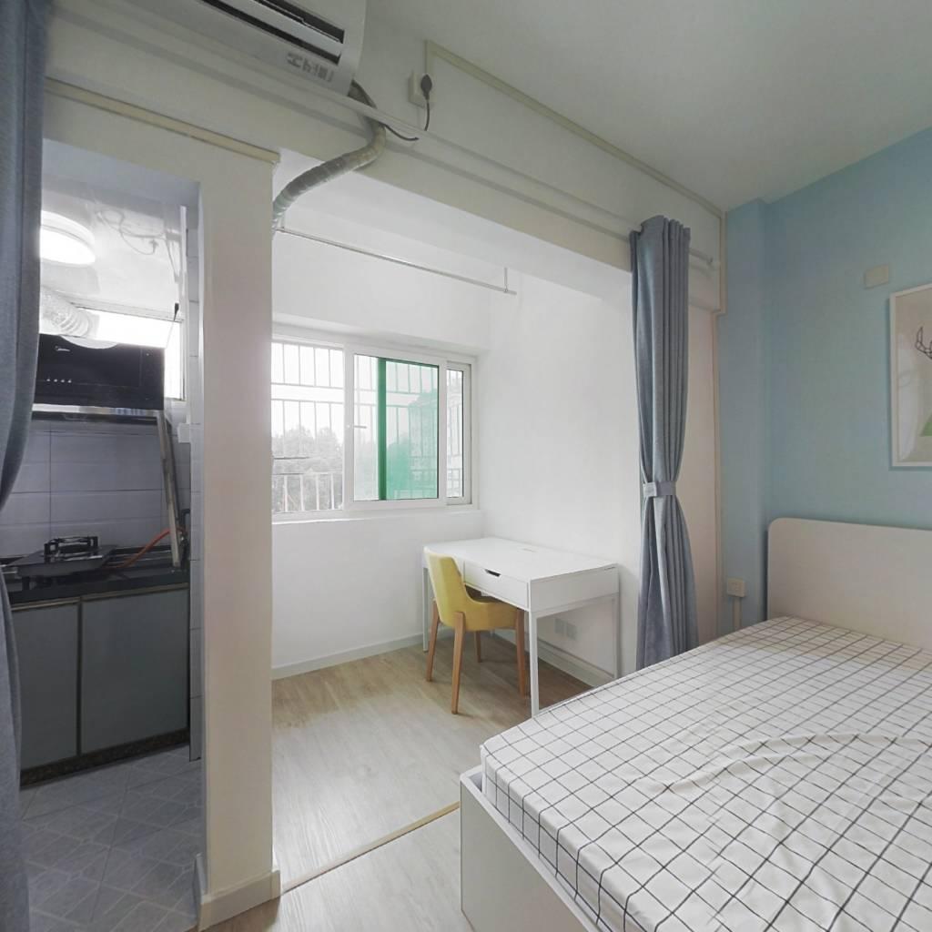 整租·鹏盛村 1室1厅 西卧室图