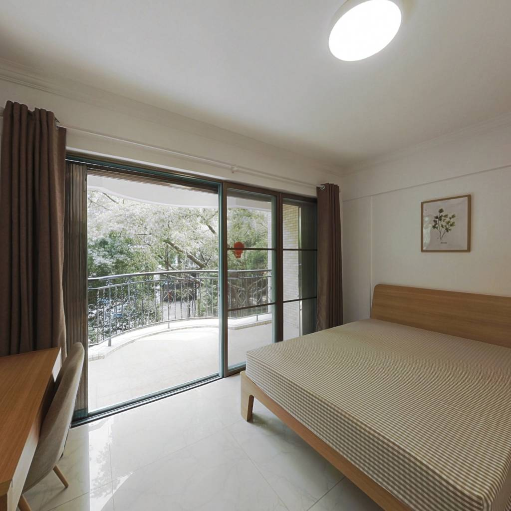 合租·云景花园云枫苑 4室1厅 东北卧室图