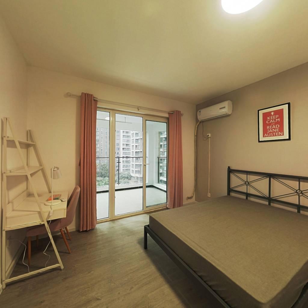合租·金茂光明城市 4室1厅 北卧室图