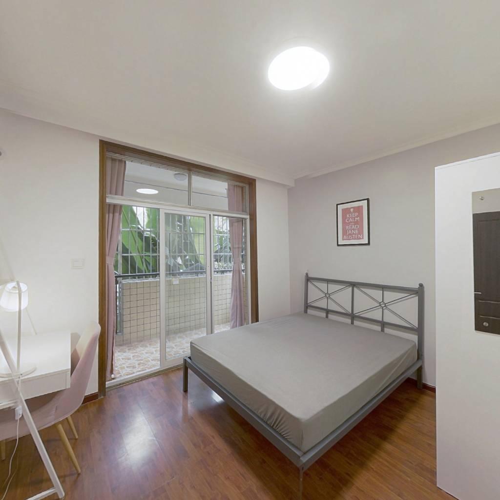 合租·锦洲花园 3室1厅 西卧室图