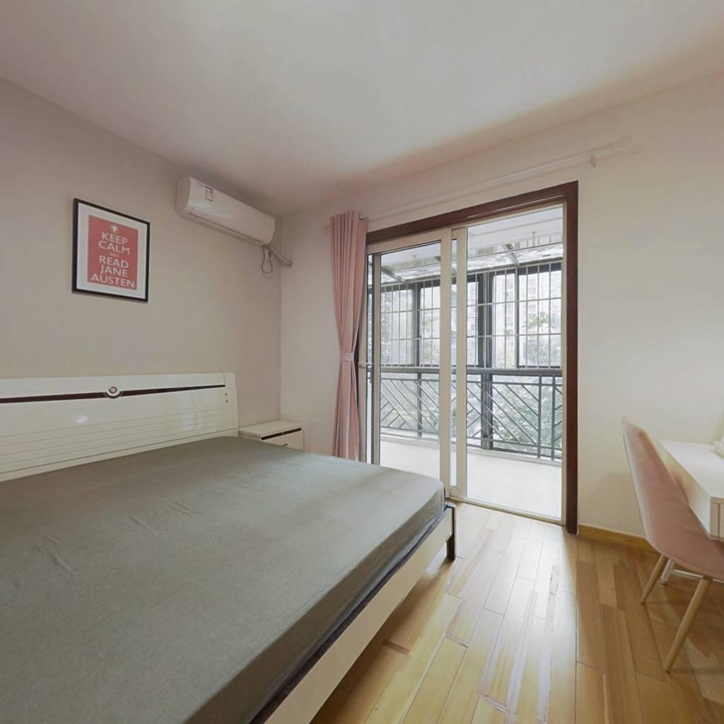 合租·富丽锦城 4室1厅 西卧室图