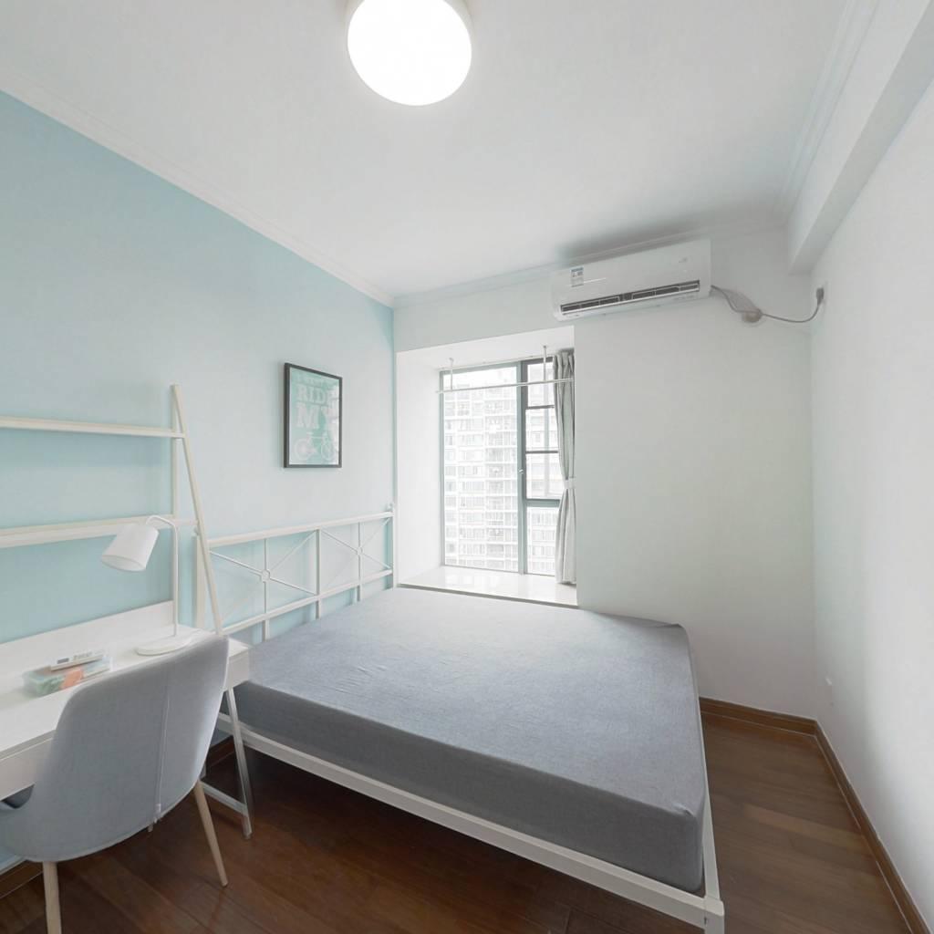 合租·中海康城 4室1厅 西卧室图