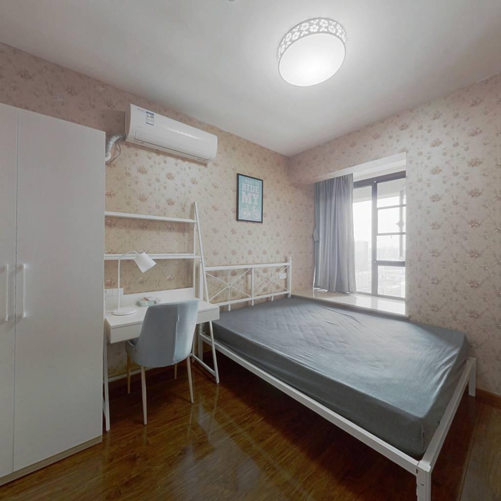 合租·银海中心 3室1厅 南卧室图