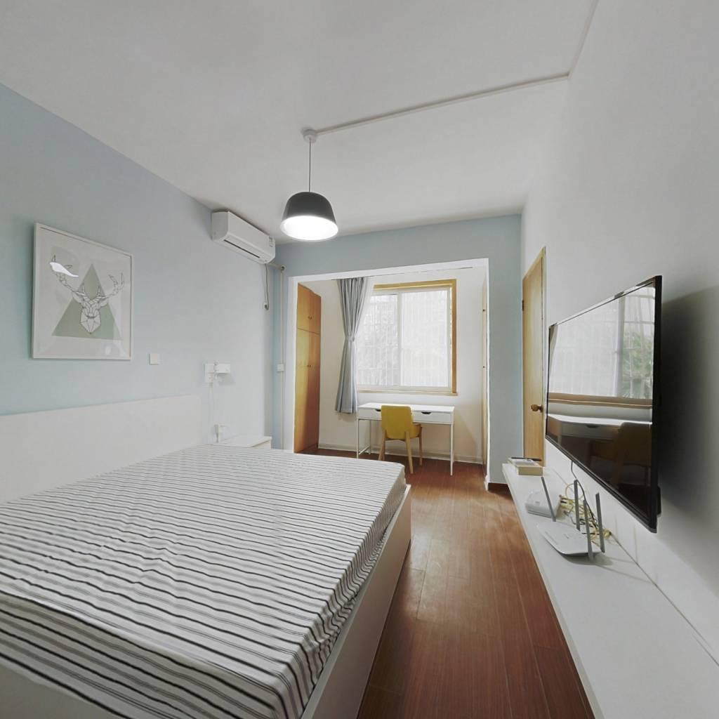 整租·友谊新村 2室1厅 南北卧室图