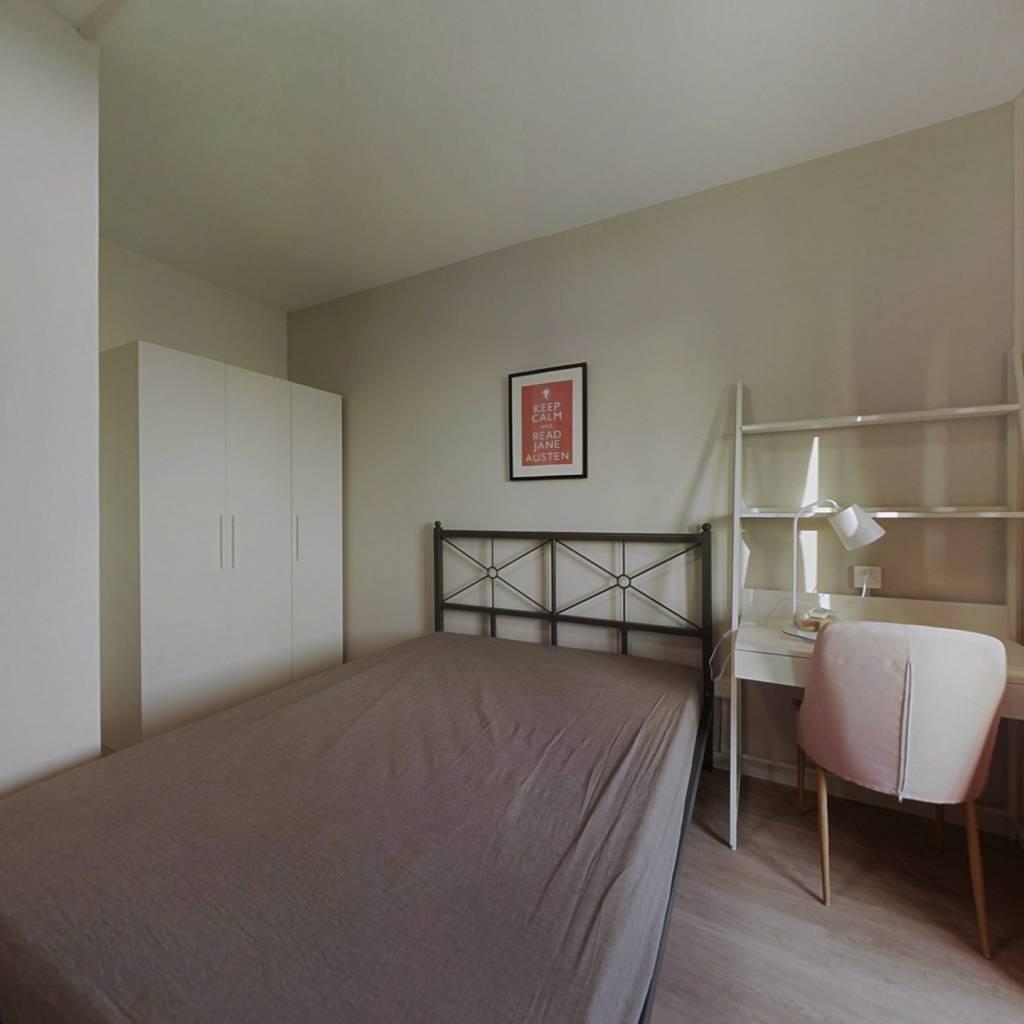 合租·保利公园九里四期 4室1厅 南卧室图
