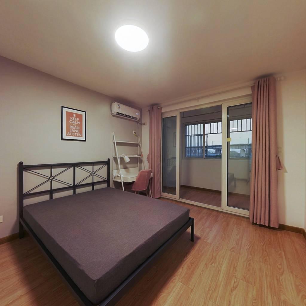 合租·景明佳园春景苑 3室1厅 西卧室图