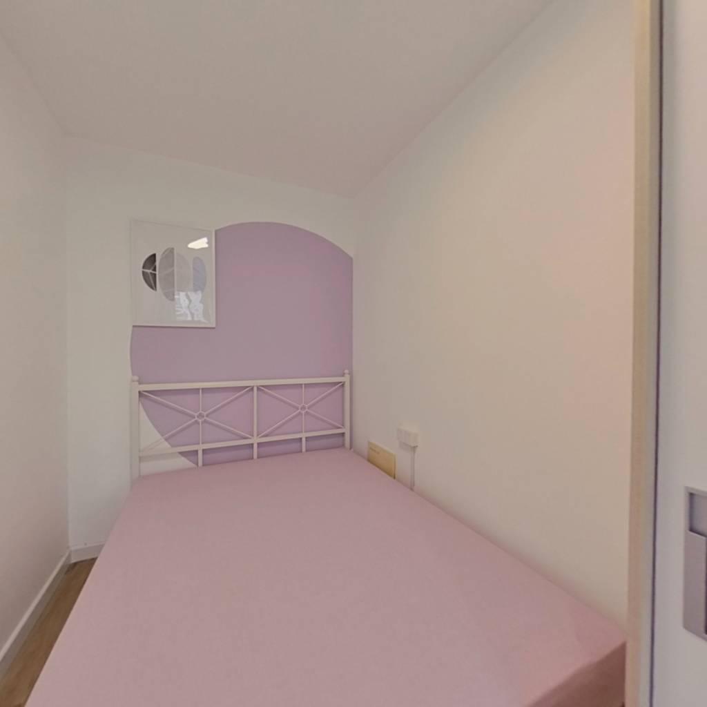 合租·花港幸福城杜鹃园 4室1厅 南卧室图