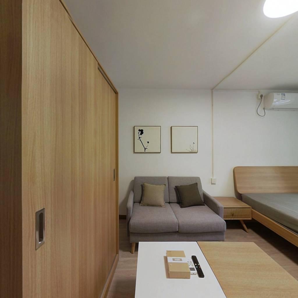 整租·宜川北里 1室1厅 南卧室图