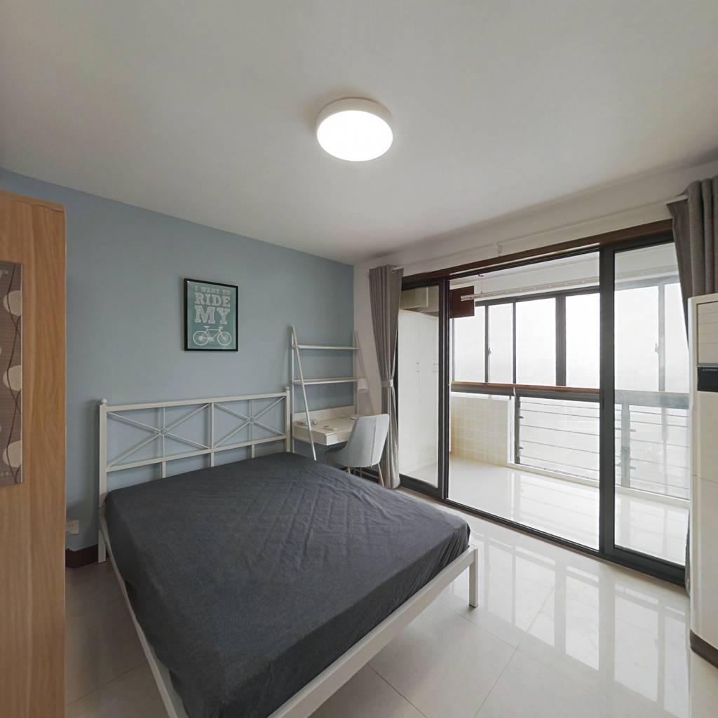 合租·万达紫金明珠 3室1厅 北卧室图
