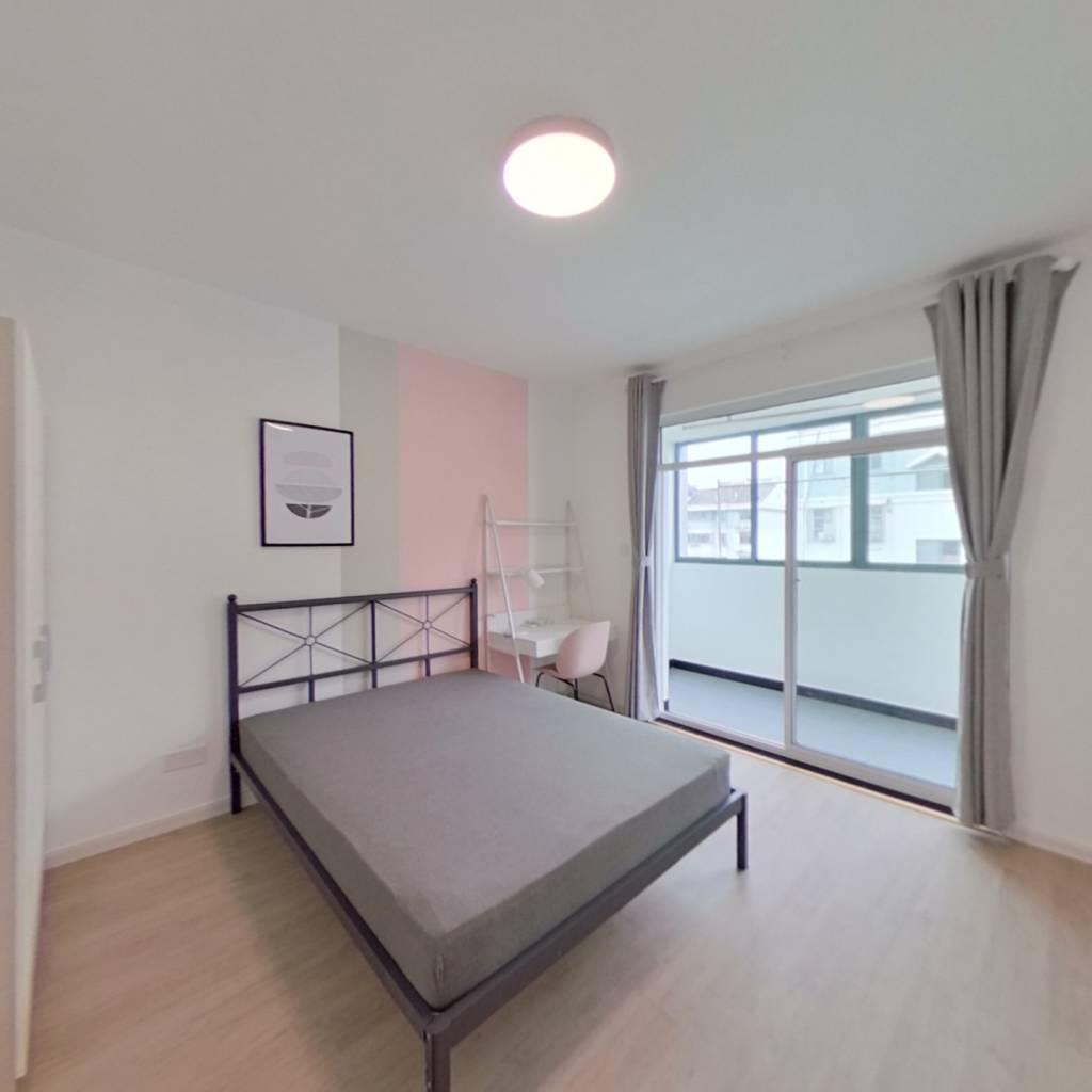 合租·天景山公寓盛乐苑 4室1厅 南卧室图
