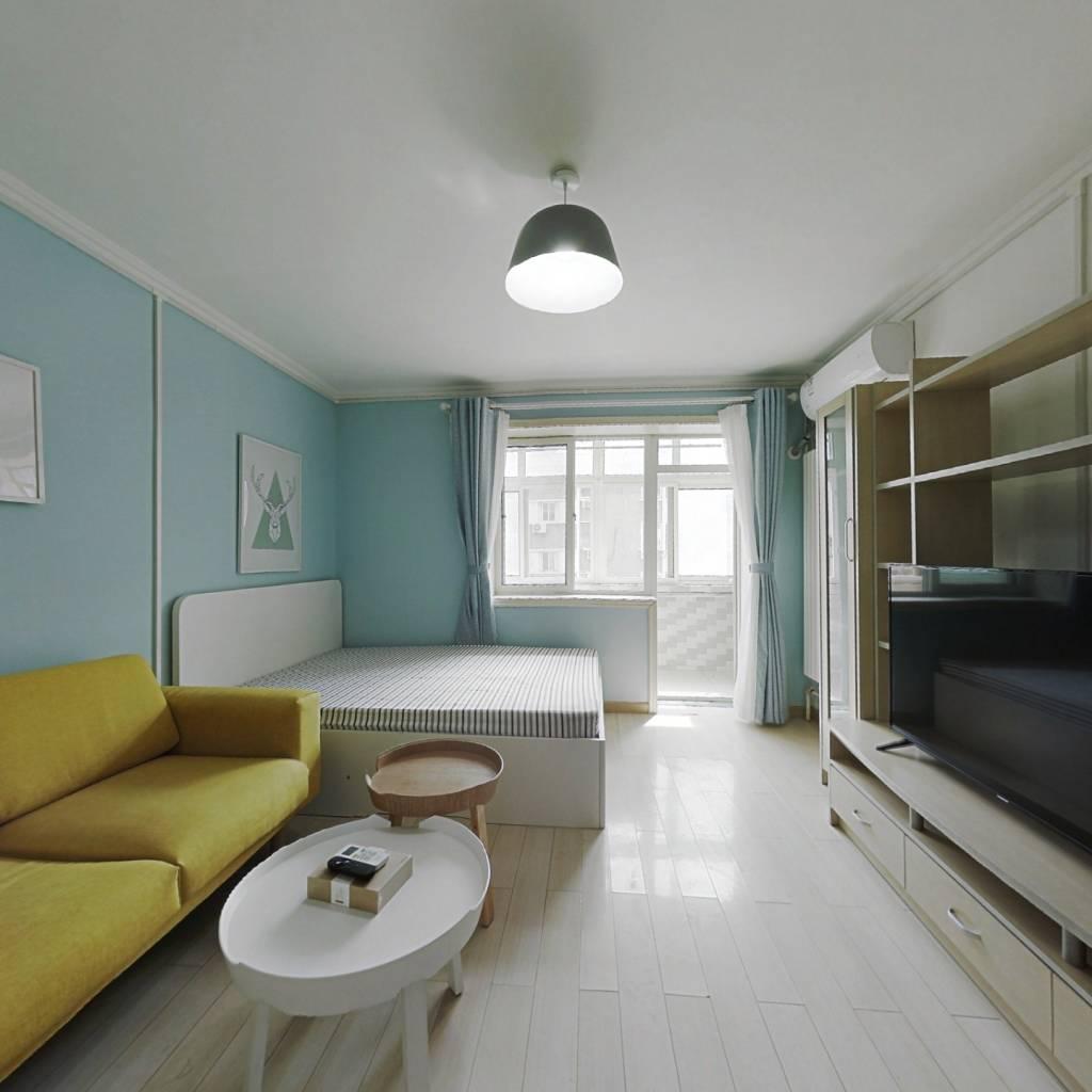 整租·朝阳门内大街 2室1厅 南北卧室图