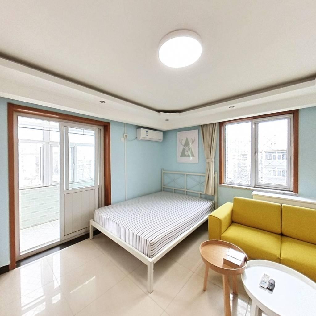 整租·建新南区 2室1厅 西卧室图
